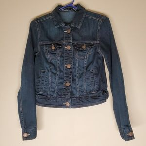 American Eagle Outfitters Jean Jacket Dk. Blue M/M